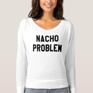 Camiseta O Flowy das mulheres do problema do Nacho fora da
