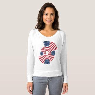 Camiseta O Flowy das mulheres idosas da glória fora da