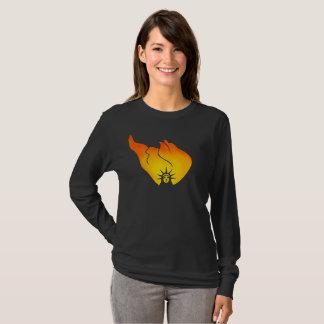 Camiseta O fogo da liberdade