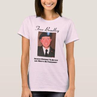 Camiseta O formulário das mulheres livres de Bradley que