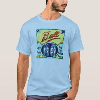 Camiseta O frasco da fruta do pedreiro da bola do vintage