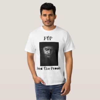 Camiseta O ftp alimenta as pessoas