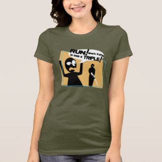 "Camiseta O ""funcionamento!"" T do lance do rifle"