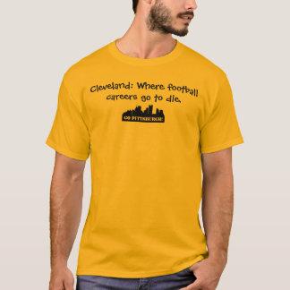 Camiseta O futebol de Cleveland suga!