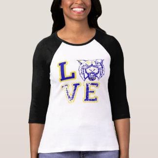 Camiseta O futebol desorganizado do amor ostenta o T