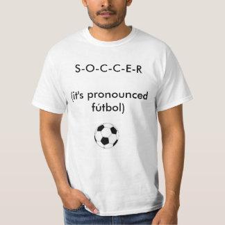 Camiseta O FUTEBOL é FUTEBOL