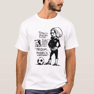 Camiseta O futebol é liberdade