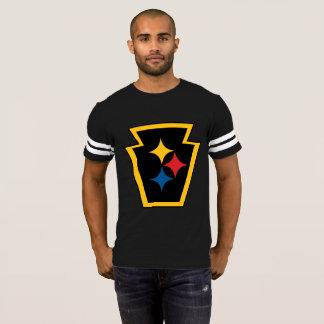 Camiseta O futebol T dos homens de HypoKeystone
