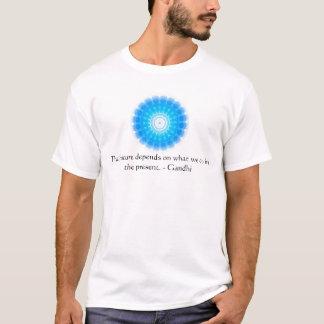 Camiseta O futuro depende do que nós fazemos no presente