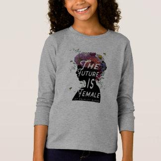 Camiseta O futuro é fêmea - juventude longa do t-shirt da