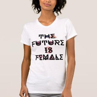 Camiseta O futuro é T feminista fêmea