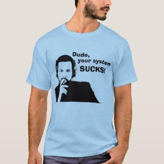 Camiseta O gajo, seu sistema SUGA!