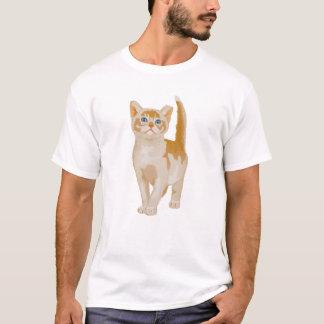 Camiseta O gato alaranjado, vidas das economias Spay uma