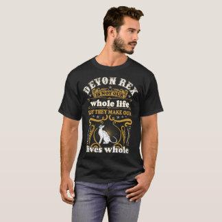 Camiseta O gato de Devon Rex não é toda a vida faz vidas