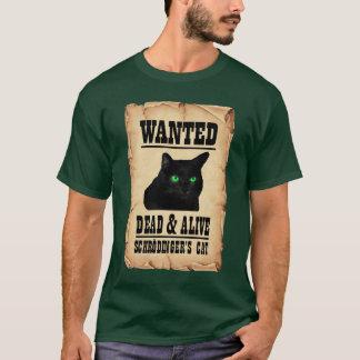 Camiseta O gato de Schrodinger