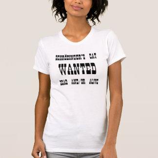 Camiseta O gato de Schrödinger quis o poster