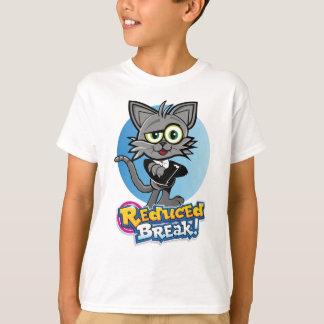 Camiseta O gato louco reduzido da ruptura!