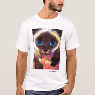 Camiseta O gato Siamese 104 SEGUE-ME JudeMaceren.com