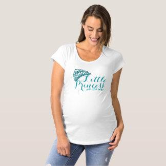 Camiseta O género pequeno da princesa bebé revela a cerceta