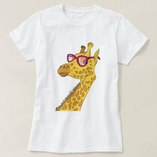 Camiseta O girafa do hipster