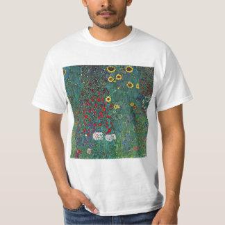 Camiseta O girassol por Klimt, vintage de Farmergarden w