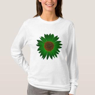 Camiseta O girassol verde - t-shirt