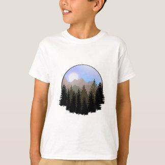 Camiseta O globo da natureza