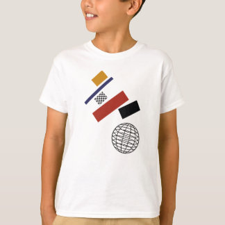 Camiseta O globo super, após Malevich