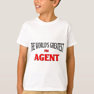 Camiseta O grande agente do FBI do mundo