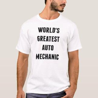 Camiseta O grande auto mecânico dos mundos