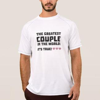Camiseta O grande casal no mundo Z5rz0