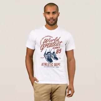Camiseta O grande corredor do mundo