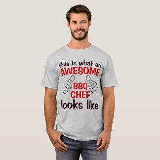 Camiseta O grande cozinheiro chefe o mais impressionante do