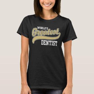 Camiseta O grande dentista do mundo