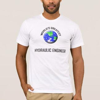 Camiseta O grande engenheiro hidráulico do mundo