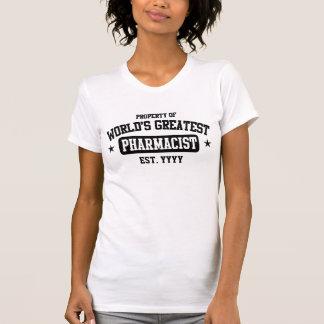 Camiseta O grande farmacêutico do mundo