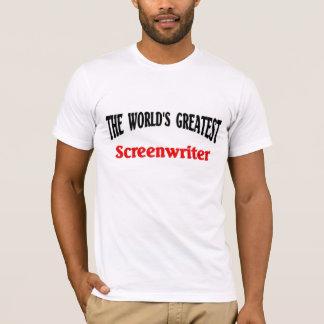 Camiseta O grande guionista do mundo