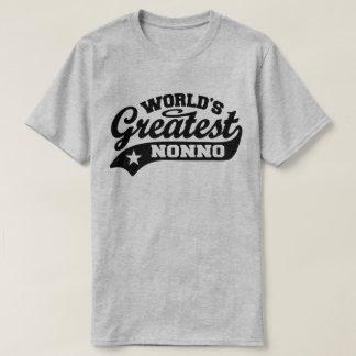 Camiseta O grande Nonno do mundo