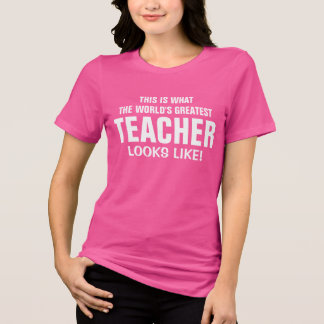Camiseta O grande professor do mundo olha o gosto