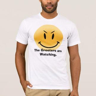 Camiseta O Greeters está olhando
