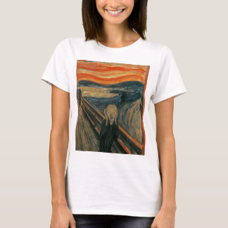 Camiseta O gritar - Edvard Munch. Arte finala da pintura