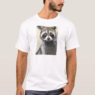 Camiseta O guaxinim amigável