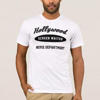 Camiseta O guionista de Hollywood