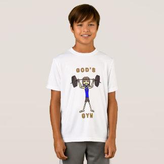 Camiseta O Gym do deus (meninos)