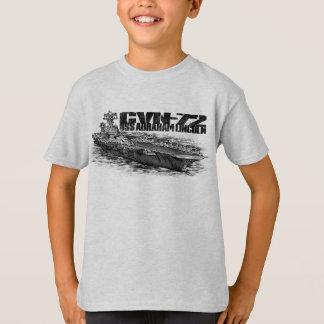 Camiseta O Hanes básico Tagless dos miúdos de CVN-72