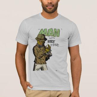 Camiseta O homem com mão do robô!