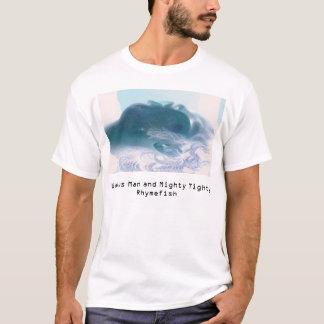 Camiseta O homem da morsa e Tighty poderoso Rhymefish