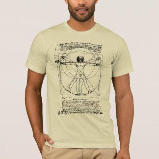 Camiseta O homem de Vitruvian