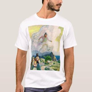 Camiseta O homem de Wales