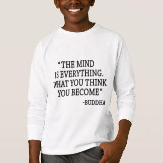 Camiseta O homem é tudo